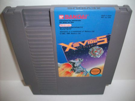 Xevious - The Avenger - NES Game
